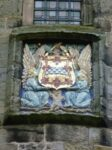 Armorial tablet of the Stewarts - Falkland Palace Fife, Scotland.